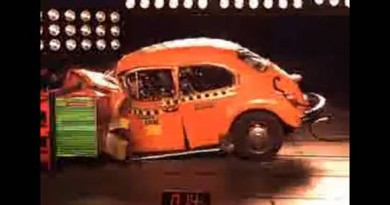 Crash test Volkswagen Garbus